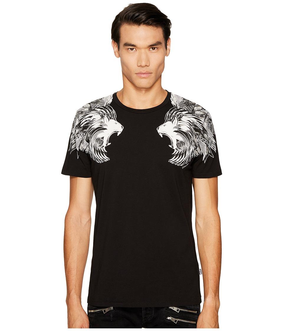 Just Cavalli Lions T-Shirt (Black) Men