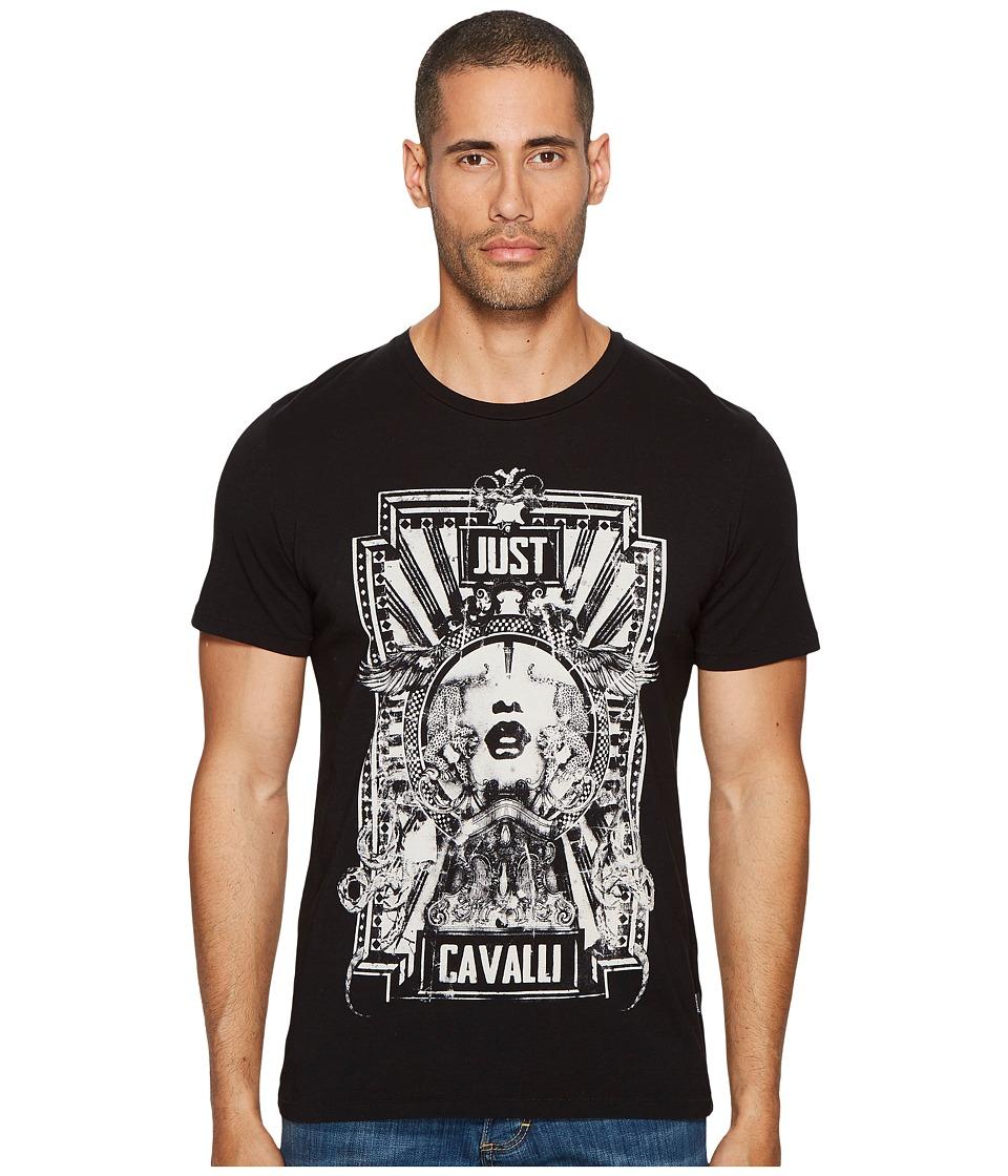 Just Cavalli Cinema T-Shirt (Black) Men