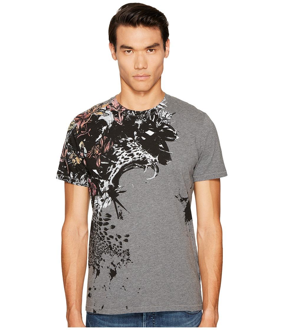 Just Cavalli Cheetah T-Shirt (Grey Melange) Men