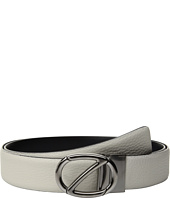 Z Zegna - Adjustable/Reversible Grained Belt BKIBM2