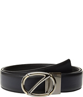 Z Zegna - Adjustable/Reversible Calfskin Belt ZPJ45Z