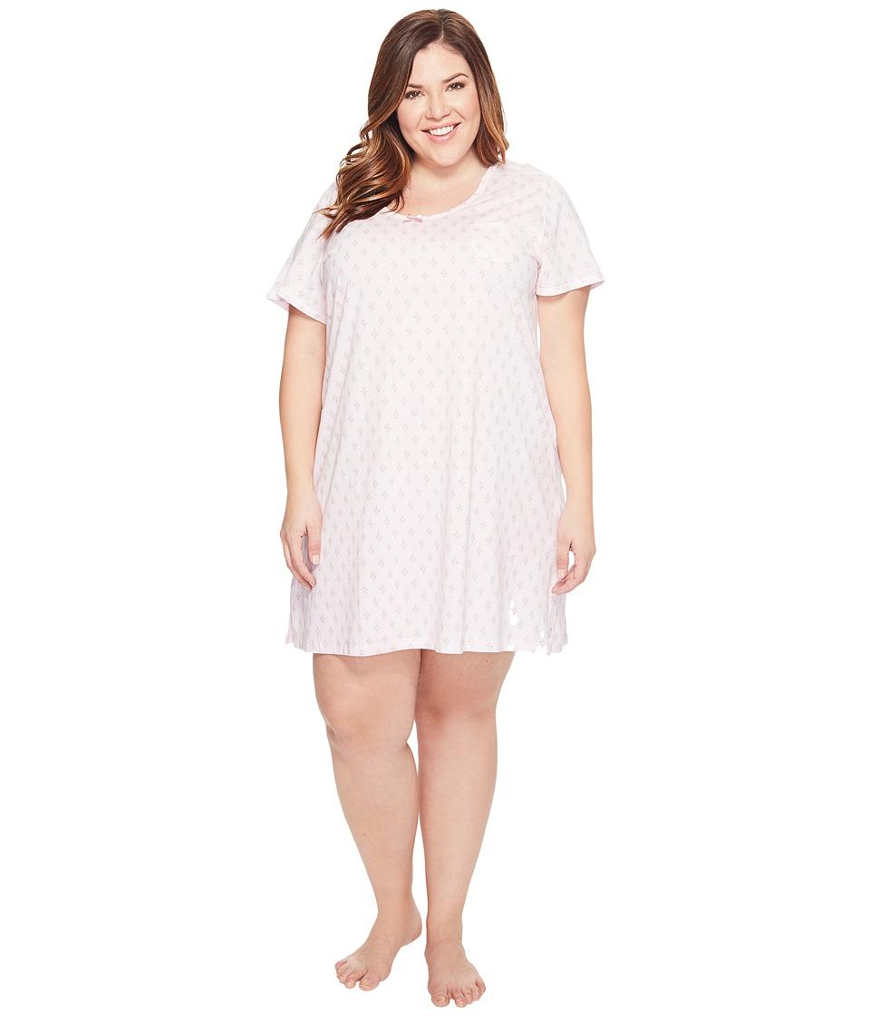 Carole Hochman - Plus Size Key Item Sleepshirt