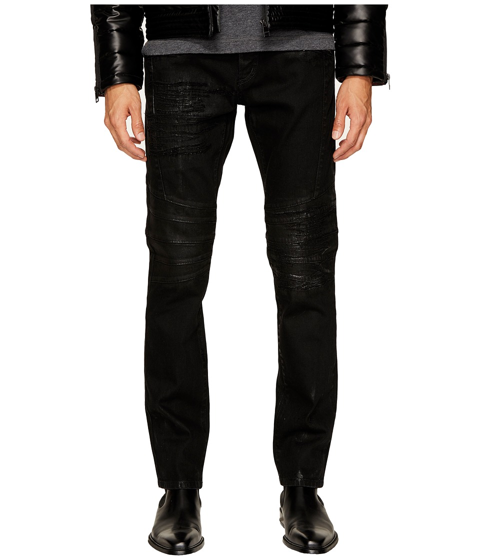 Just Cavalli Moto Jeans in Black (Black) Men