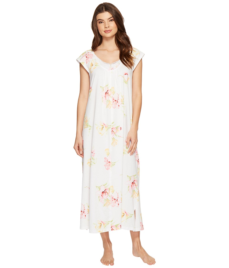Carole Hochman - Floral Knit Long Gown