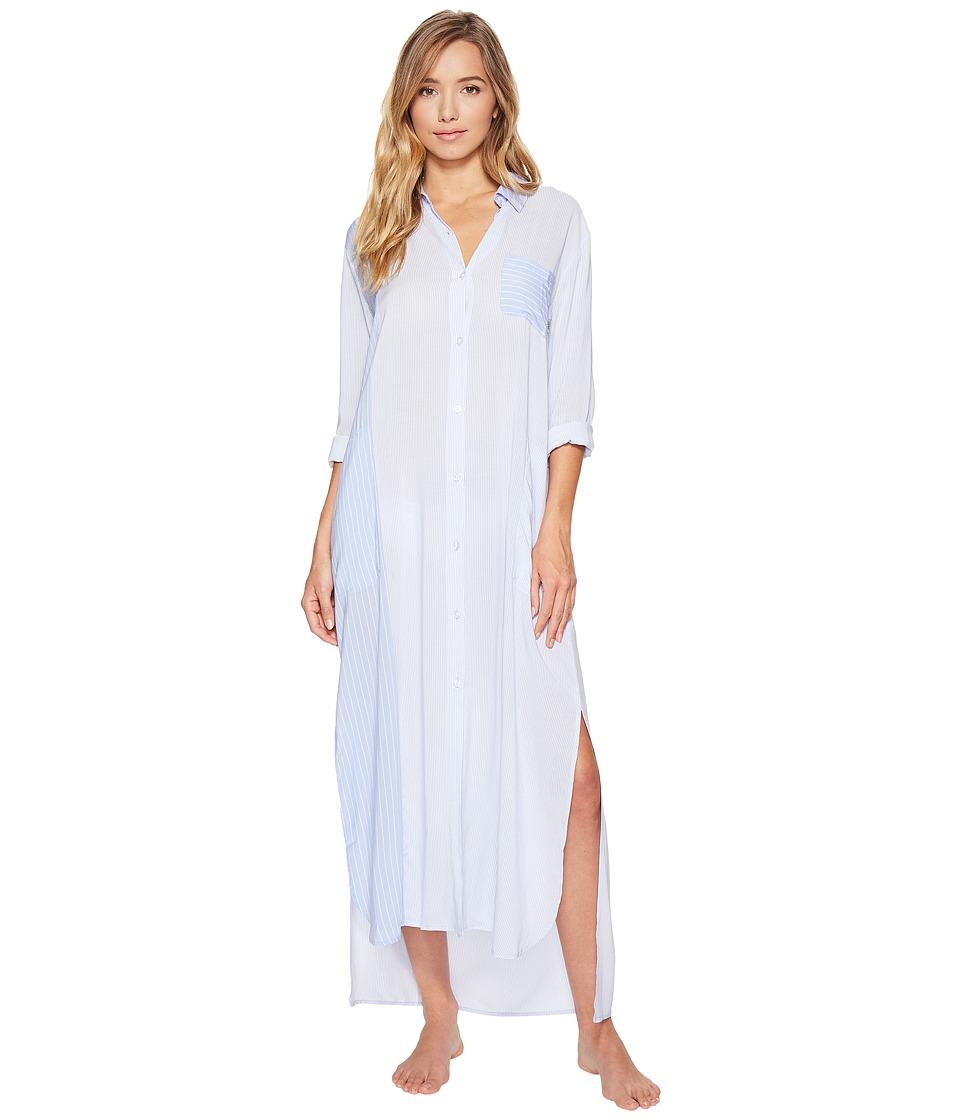 DKNY DKNY - Fashion Long Sleeve Maxi Robe
