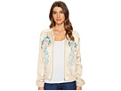 Embroidered Jacket in Pink Lady