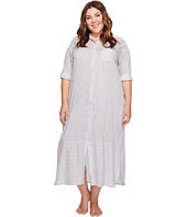DKNY - Plus Size Fashion Long sleeve Sleep Maxi