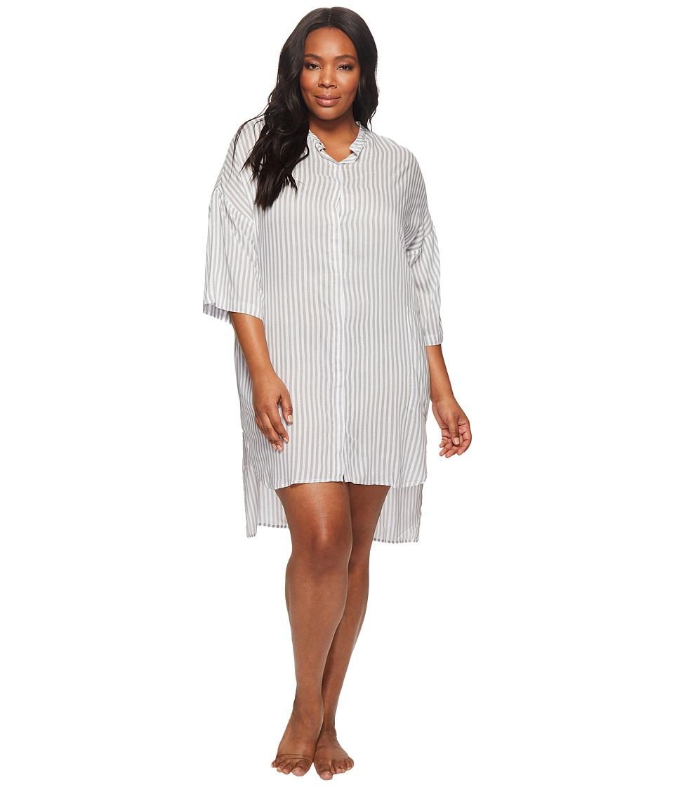 DKNY - Plus Size Fashion 3/4 Sleeve Sleepshirt