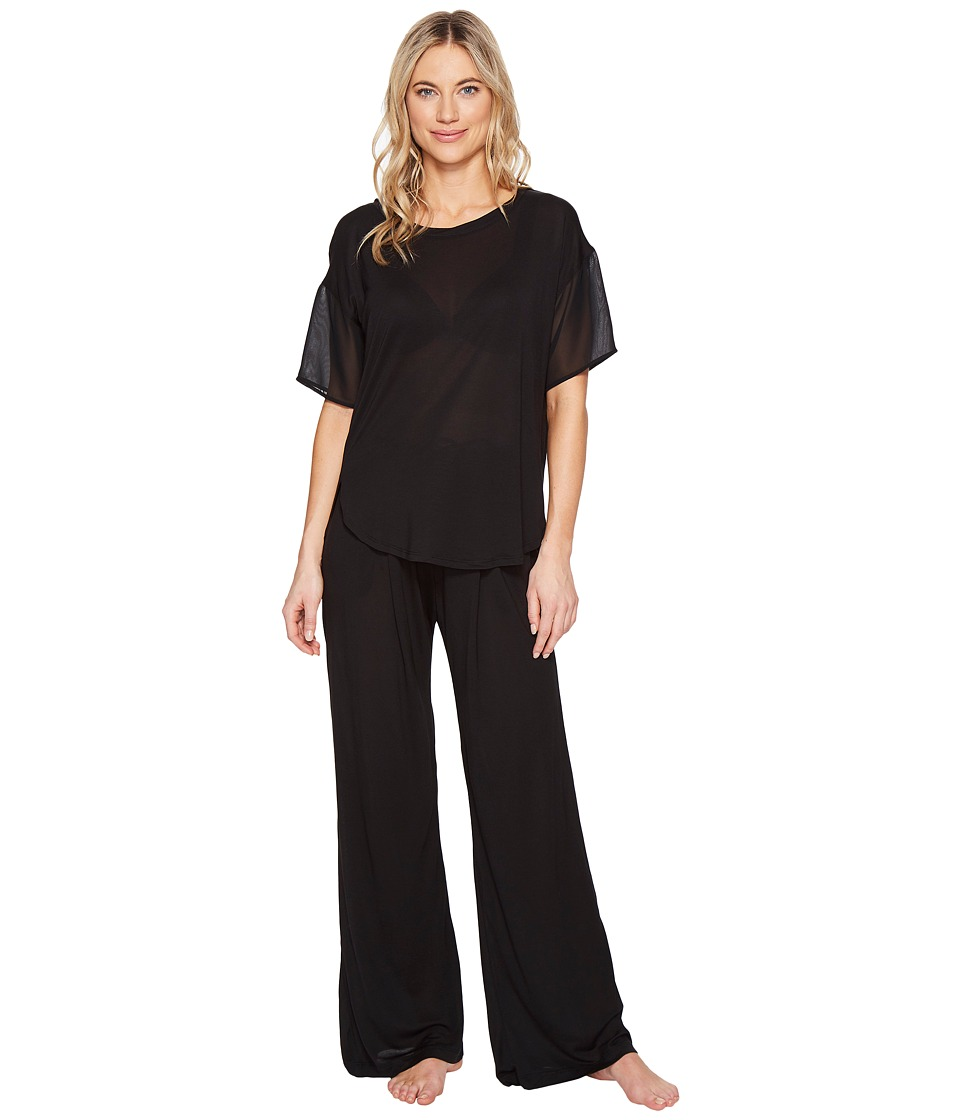 DKNY - Fashion Short Sleeve Top Pants Sets