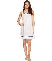 Eileen West - Cotton Woven Dot Short Nightgown