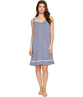 Eileen West - Cotton Stripe Short Nightgown
