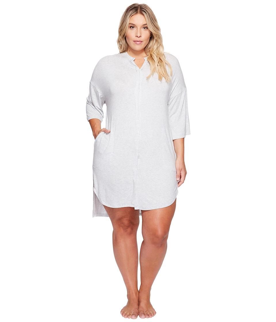 DKNY DKNY - Plus Size Fashion 3/4 Sleeve Sleepshirt