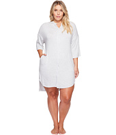 DKNY - Plus Size Fashion 3/4 Sleeve Sleepshirt