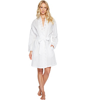 Eileen West - Cotton Embroidered Short Wrap Robe