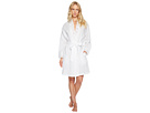 Cotton Embroidered Short Wrap Robe