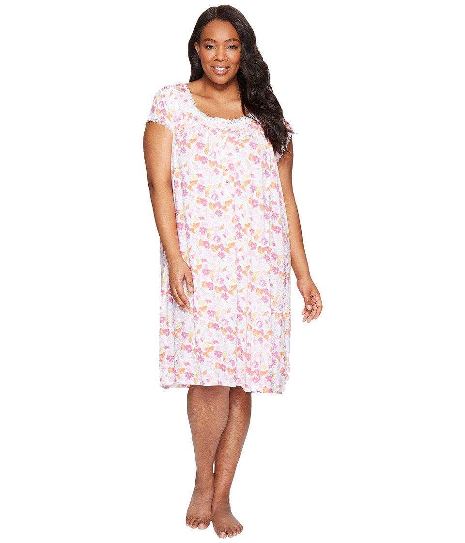 Eileen West - Plus Size Modal Spandex Waltz Nightgown