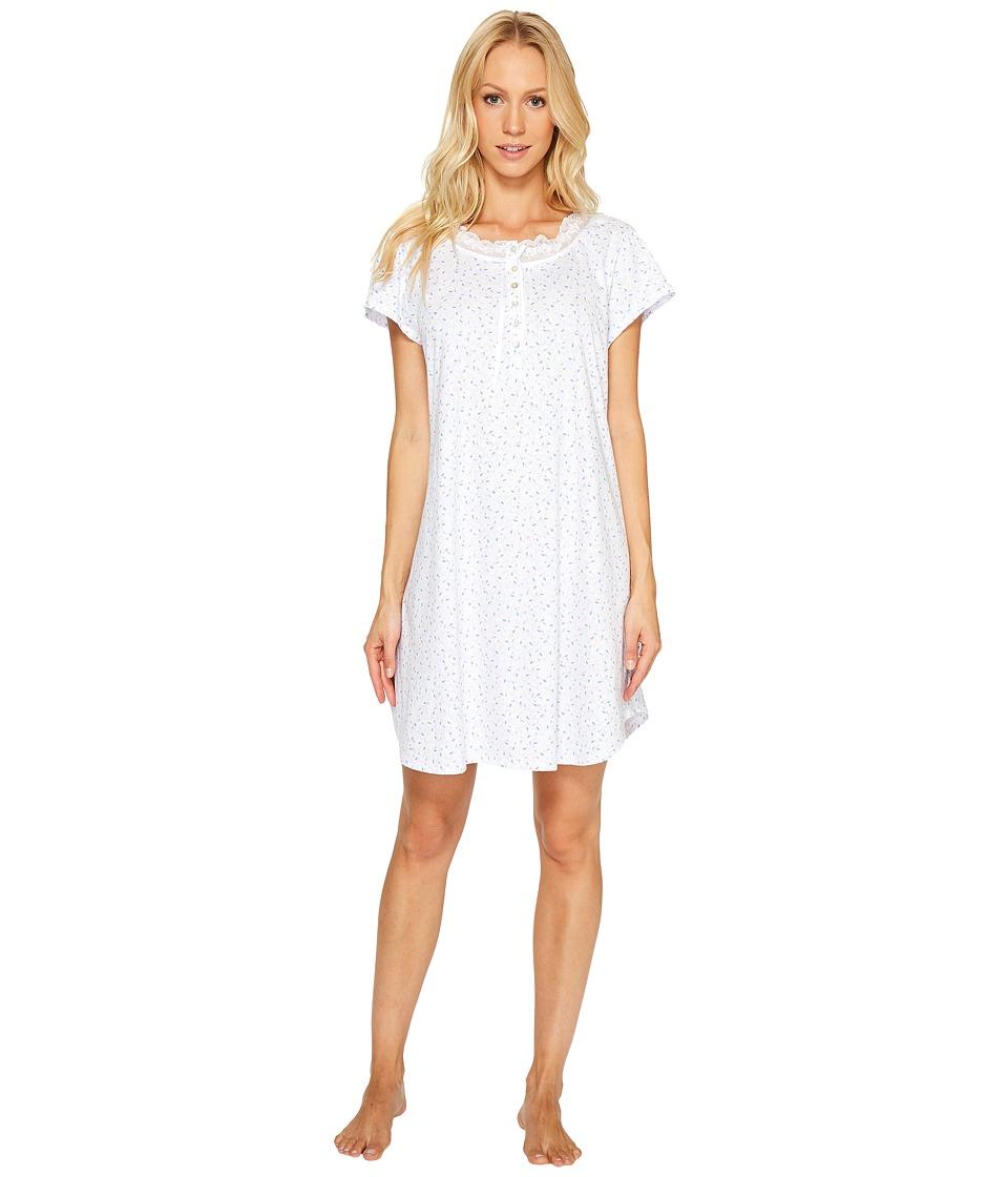 Eileen West - 100% Cotton Jersey Short Sleepshirt