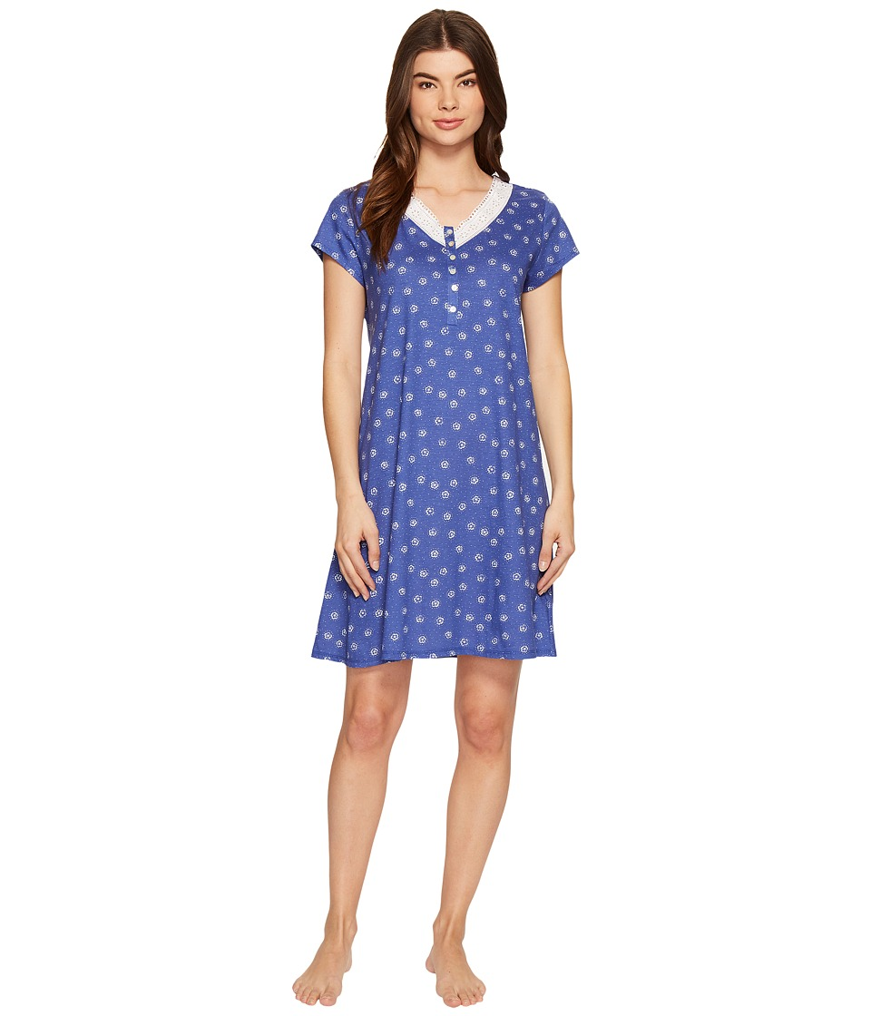 Eileen West - Cotton Jersey Short Sleepshirt