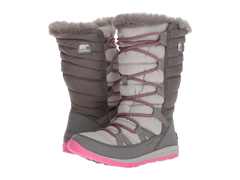SOREL Kids Whitney Lace (Toddler/Little Kid/Big Kid) (Pink Ice/Quarry) Girls Shoes