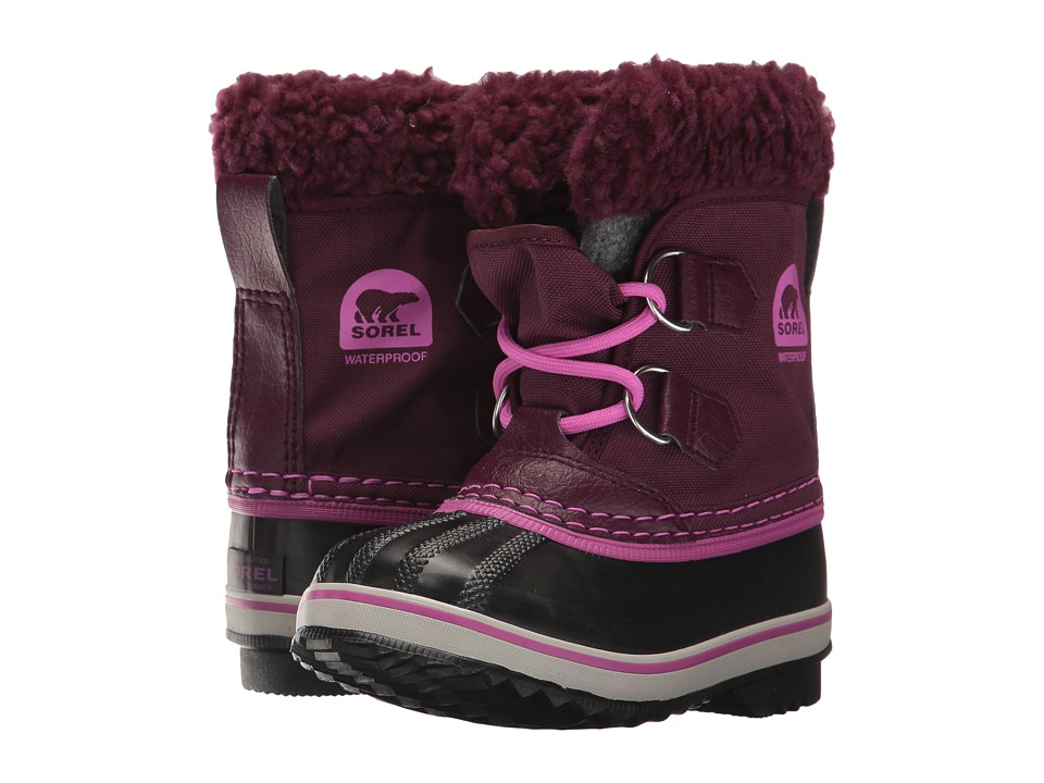 SOREL Kids - Yoot Pac Nylon (Toddler/Little Kid) (Purple Dahlia) Girls Shoes