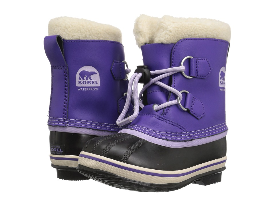 SOREL Kids - Yoot Pac TP (Toddler/Little Kid) (Emperor/Morning Mist) Girls Shoes