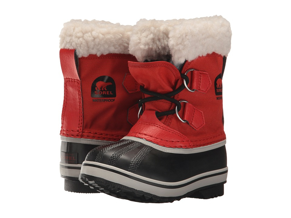 SOREL Kids - Yoot Pac Nylon (Toddler/Little Kid) (Rocket) Kids Shoes