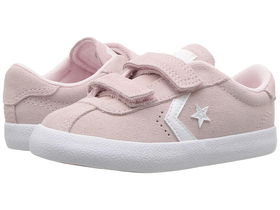 Converse Kids Breakpoint 2V Suede Ox (Infant/Toddler) (Arctic Pink/Arctic Pink/White) Girl