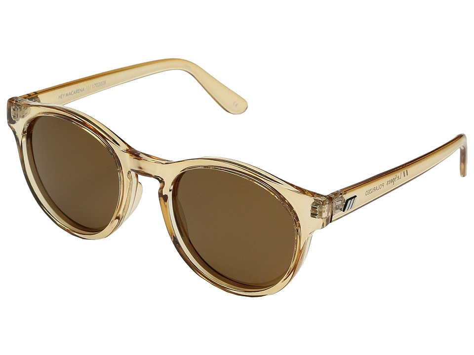 Le Specs - Hey Macarena (Blonde/Brown Mono Polarized) Fashion Sunglasses