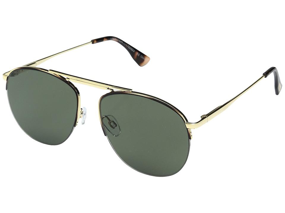 Le Specs - Liberation (Dark Gold/Tortoise/Khaki Mono) Sport Sunglasses