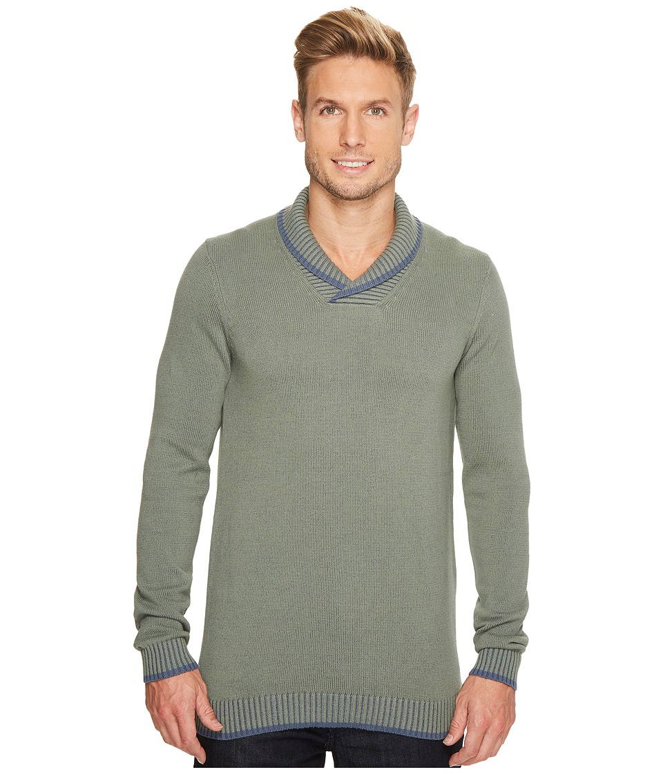 Ecoths Barrett Sweater (Agave Green) Men