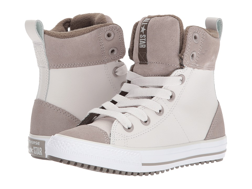 Converse Kids - Chuck Taylor All Star Asphalt Boot Hi (Little Kid/Big Kid) (Pale Putty/Malted/Engine Smoke) Girls Shoes