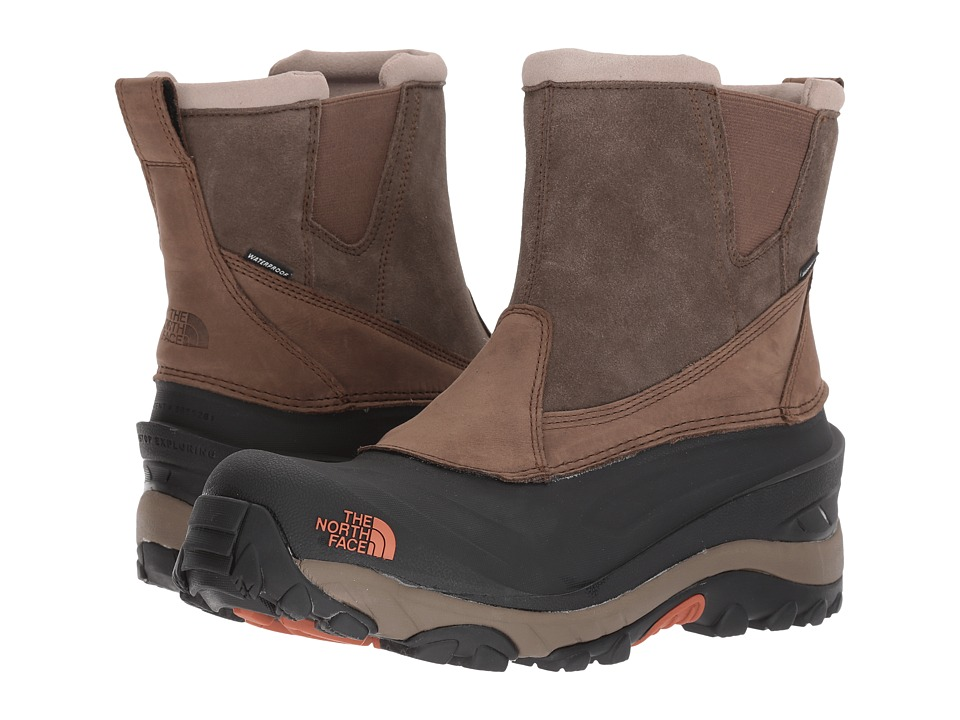 The North Face Chilkat III Pull-On (Mudpack Brown/Bombay Orange) Men