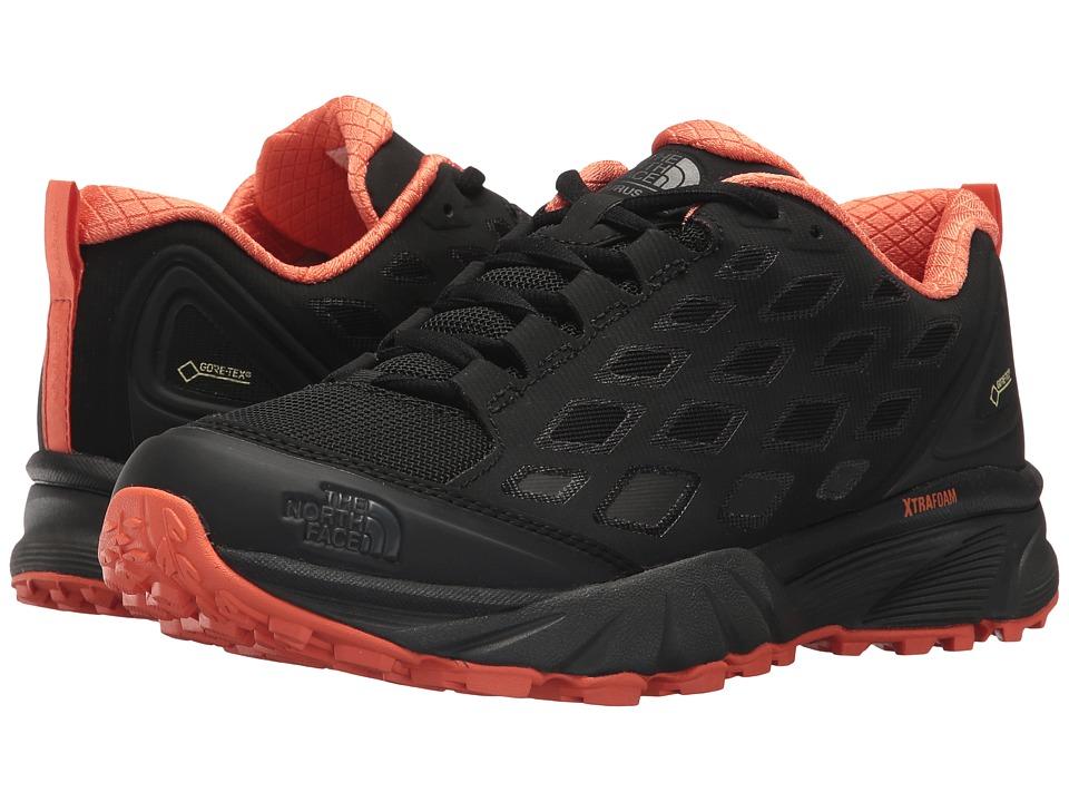 The North Face - Endurus Hike GTX(r) (TNF Black/Nasturtium Orange) Womens Shoes