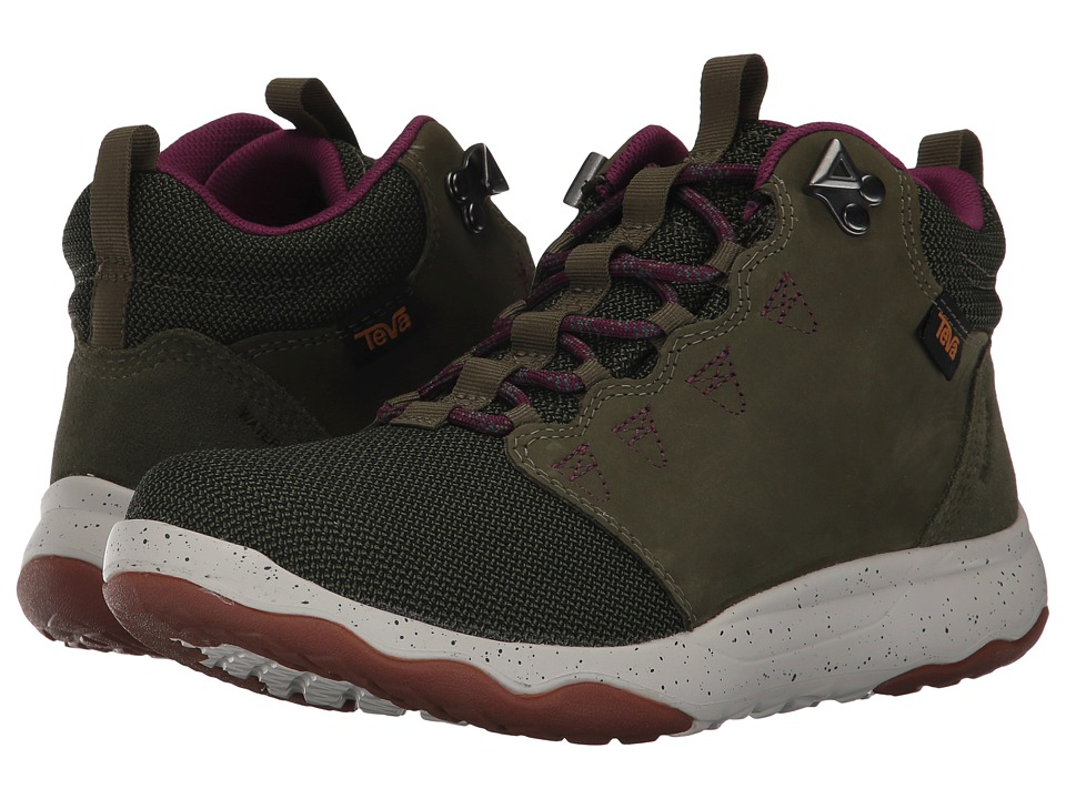 Teva Arrowood Mid WP (Olive) Women