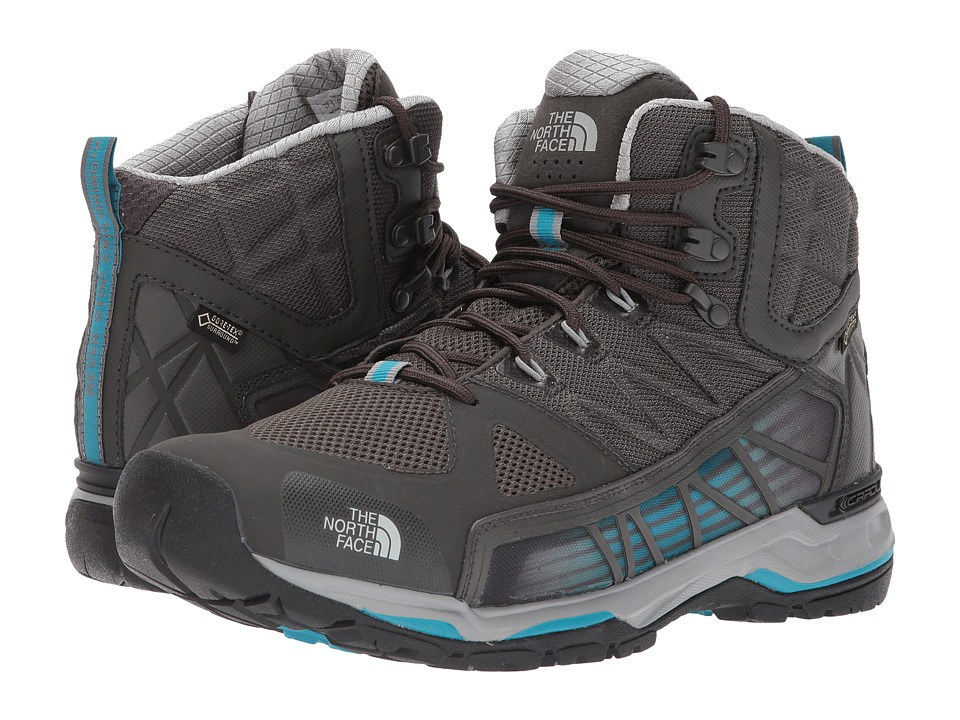 North Face Ultra GTX Surround Mid (Beluga Grey/Algiers Bl...