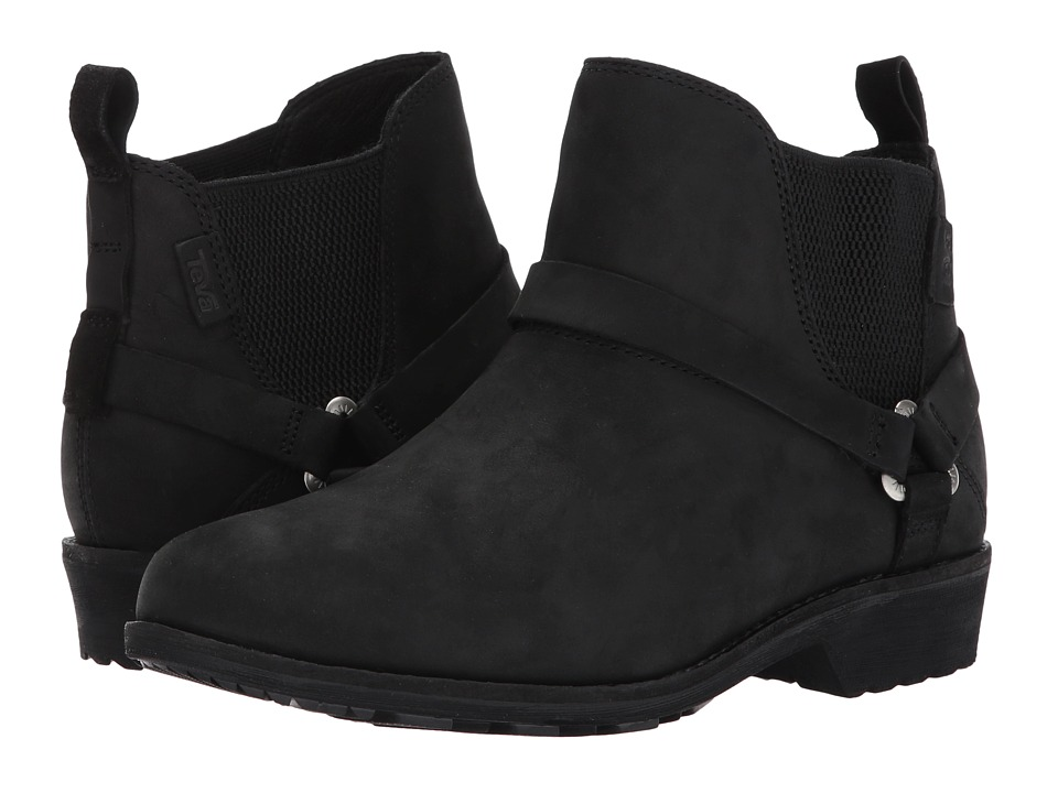 Teva De La Vina Dos Chelsea (Black) Women's Shoes