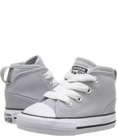 Converse Kids - Chuck Taylor All Star Syde Street Leather Mid (Infant/Toddler)