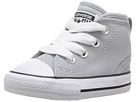 Converse Kids Chuck Taylor All Star Syde Street Leather Mid (Infant/Toddler)