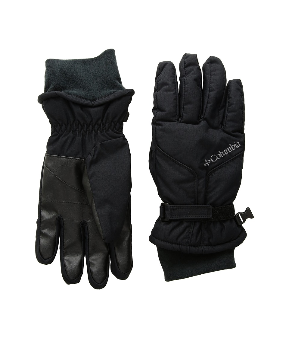 Columbia Cooper Spur Gloves (Black) Extreme Cold Weather Gloves
