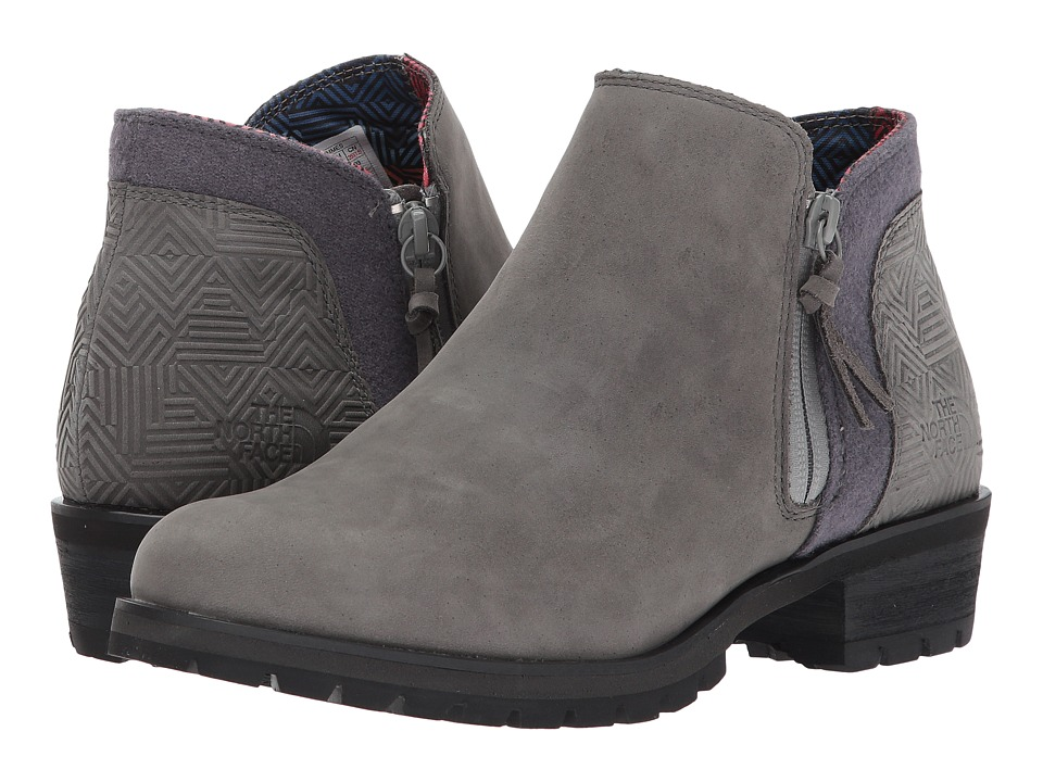 The North Face Bridgeton Bootie Zip (Dark Gull Grey/TNF Black) Women