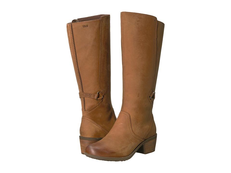 Teva Foxy Tall Waterproof (Brown) Women