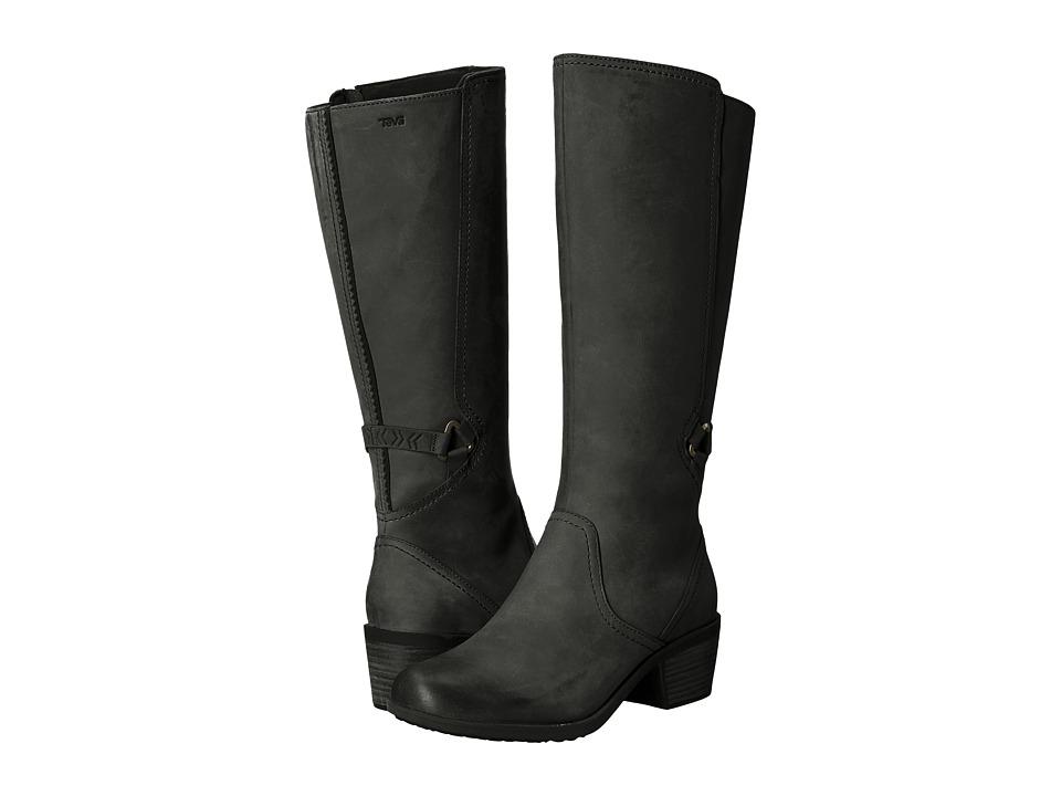 Teva Foxy Tall Waterproof (Black) Women