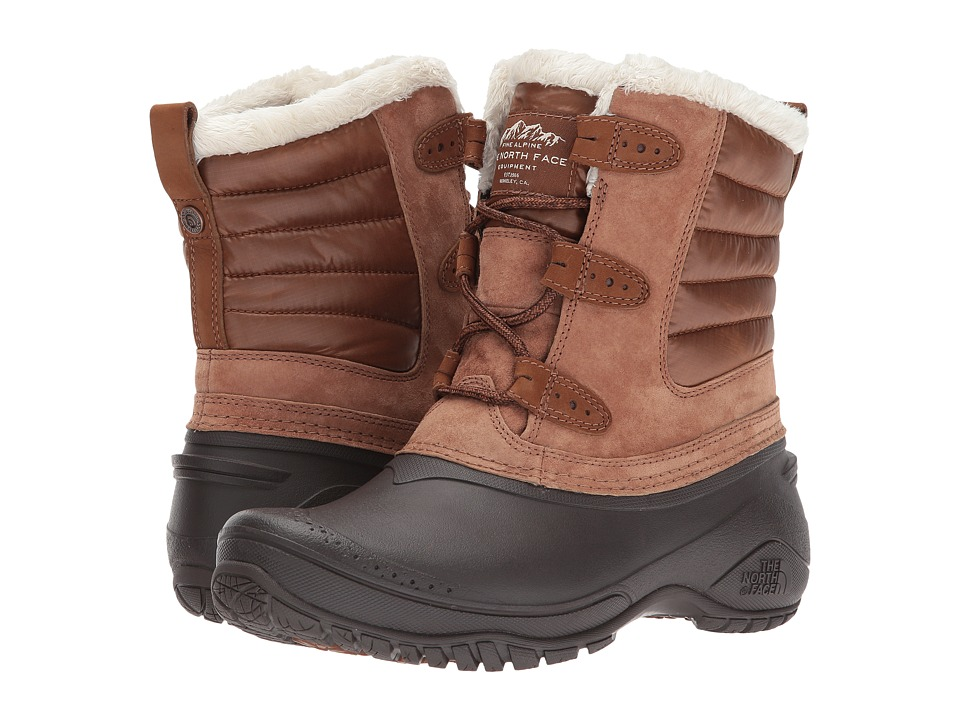The North Face Shellista II Shorty (Dachshund Brown/Wintage White) Women