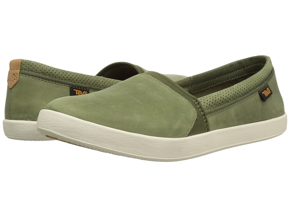 Teva Willow Slip-On (Olive) Women