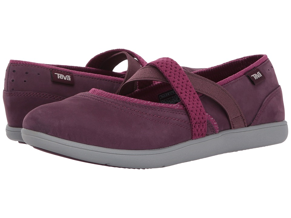 Teva Hydro-Life Slip-On Leather (Fig) Women
