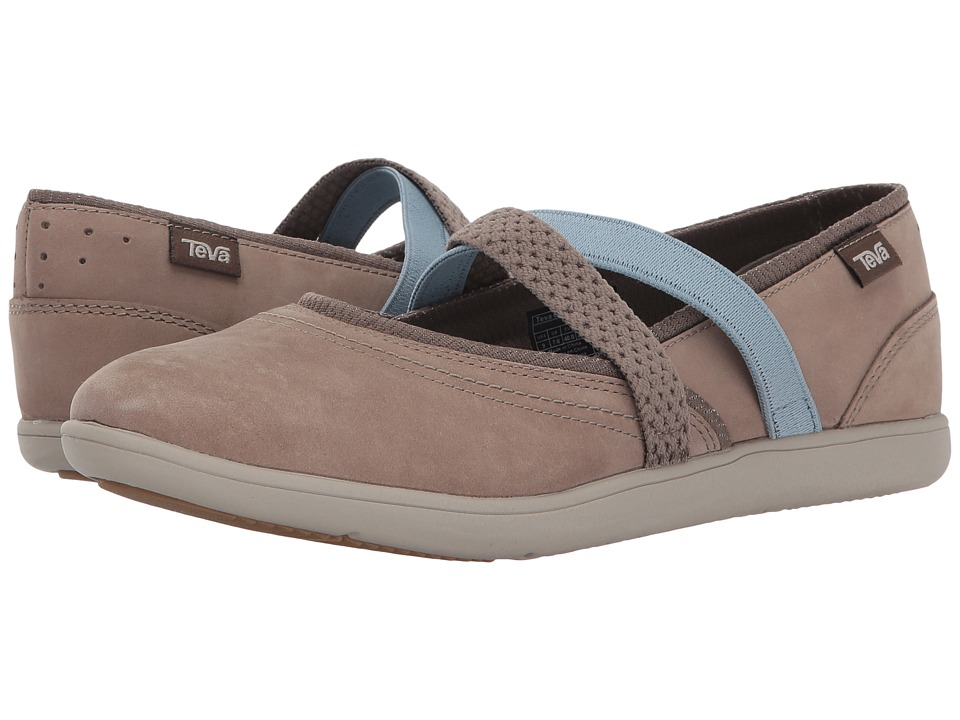 Teva Hydro-Life Slip-On Leather (Walnut) Women