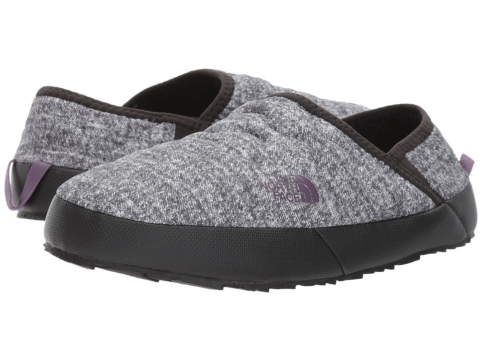 The North Face ThermoBall Traction Mule IV (Burnished Houndstooth Print/Black Plum) Women