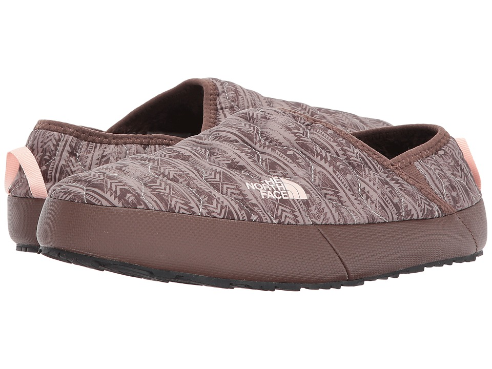 The North Face ThermoBall Traction Mule IV (Northwest Distressed Print/Evening Sand Pink) Women