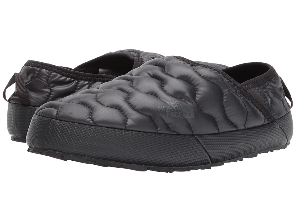 The North Face ThermoBall Traction Mule IV (Shiny TNF Black/Beluga Grey) Women