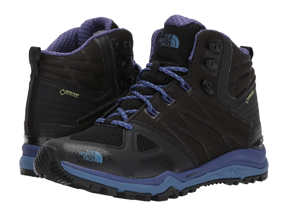 The North Face Ultra Fastpack II Mid GTX(r) (TNF Black/Bright Navy) Women